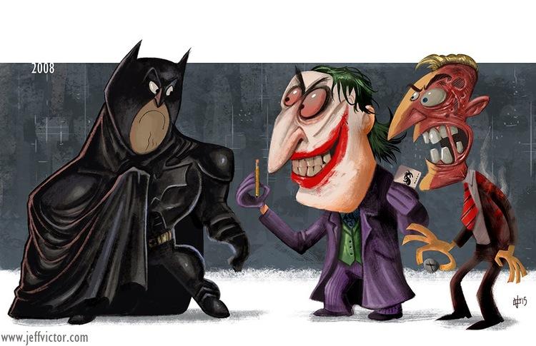 The Evolution of Batman Films