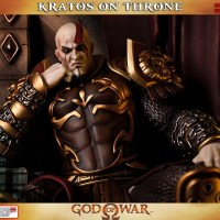 Awesome GOD OF WAR Throne Statue
