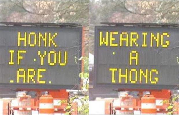 Road Signs Gone Wild
