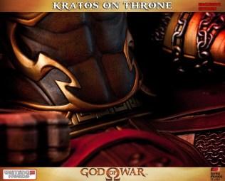 GOD OF WAR Throne Statue