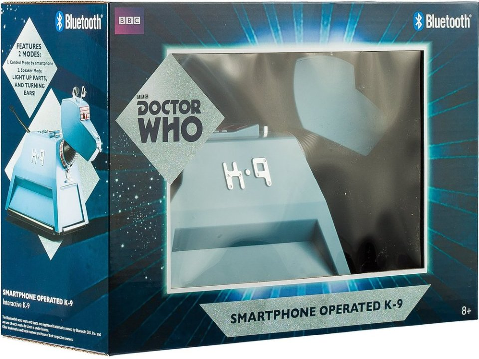 Smartphone Controlled DOCTOR WHO K-9 Replica