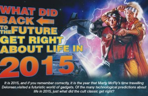 What did Back to the Future get Right about life in 2015?