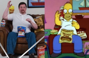 Matching The Eating Pattern Of Homer Simpson Is Not an Easy Thing To Do
