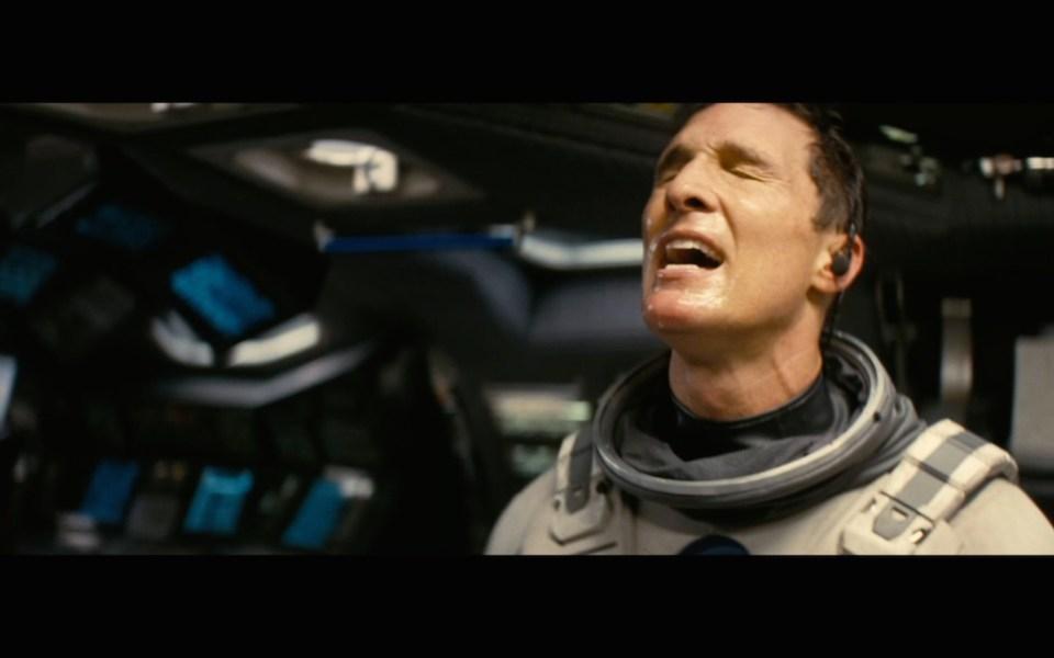 Interstellar crying