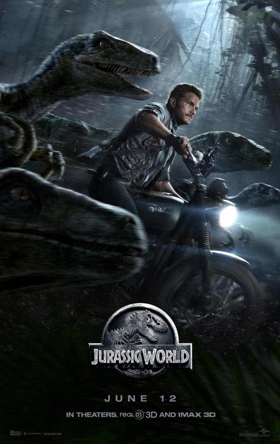 New Jurassic World Poster!