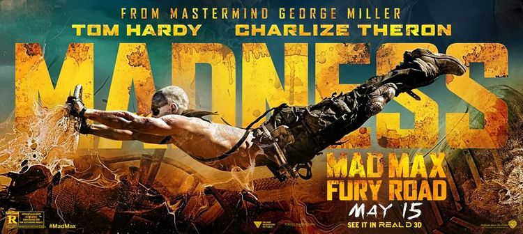 MAX: FURY ROAD Banner