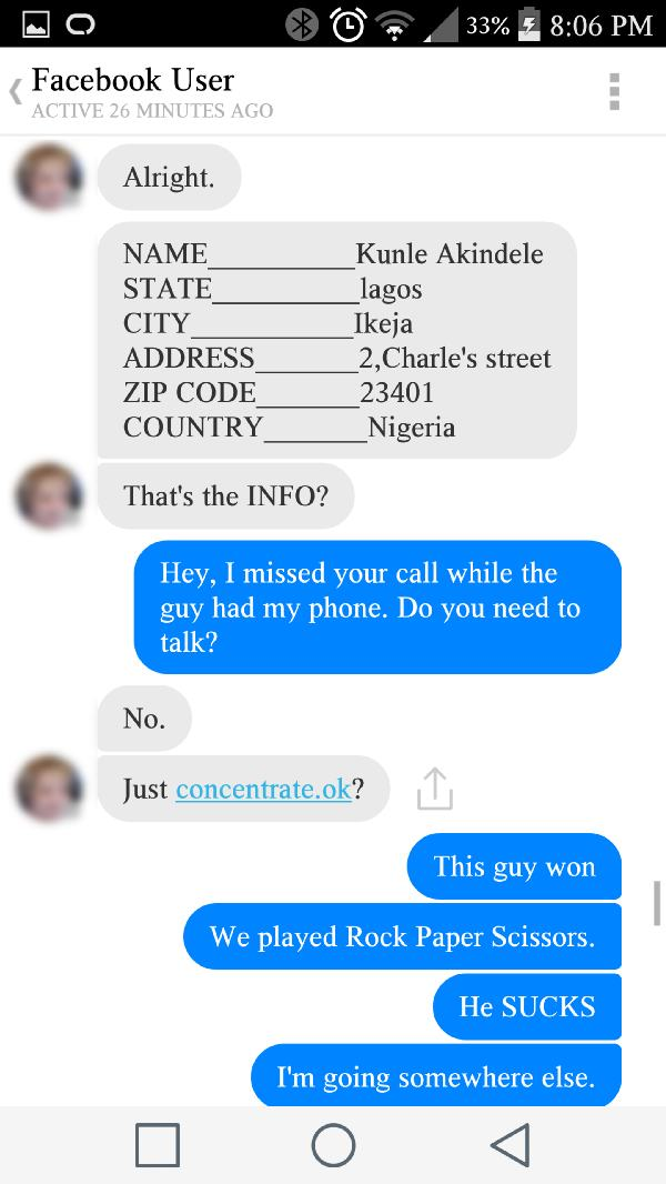 Amazing Fun at Nigerian Scammer's Expense