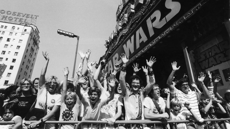 Recording of 1977 STAR WARS Audience Reaction