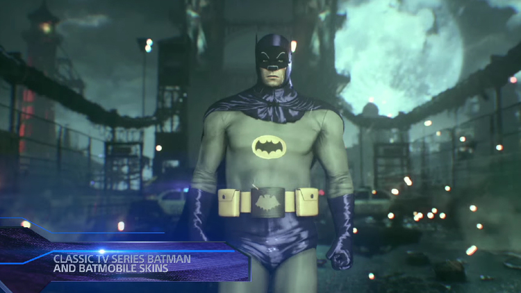 BATMAN: ARKHAM KNIGHT Trailer Showcases Scarecrow Missions and Retro Costume