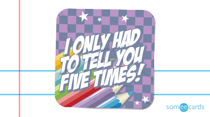 Honest Teacher Stickers for Underachievers