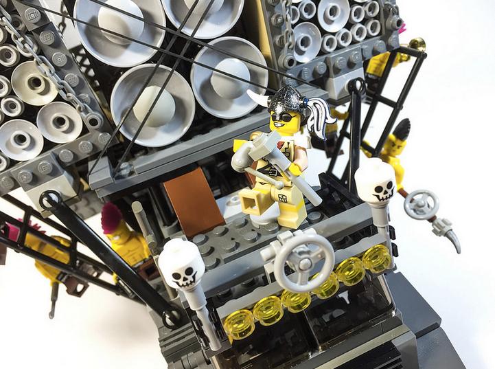 Custom Lego MAD MAX: FURY ROAD Vehicles