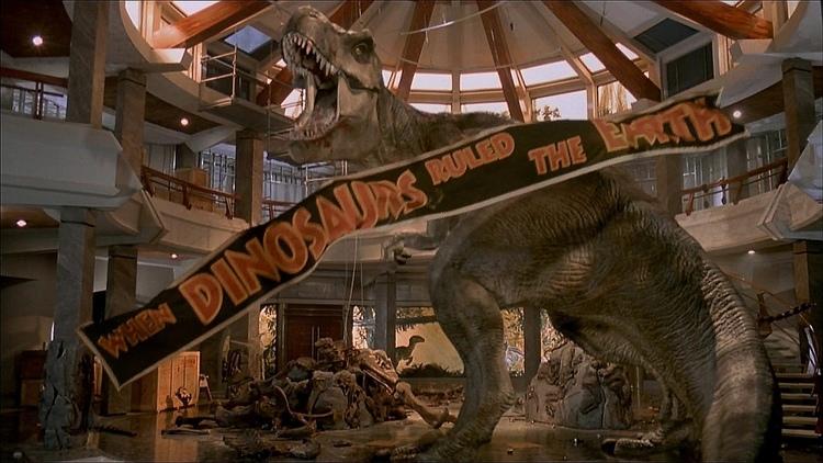 The Original T-Rex Will Be Back in JURASSIC WORLD