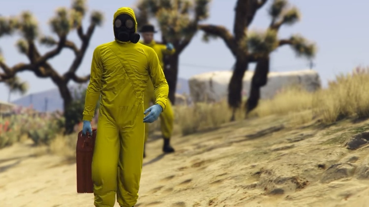 BREAKING BAD Gets a GRAND THEFT AUTO V Tribute Video