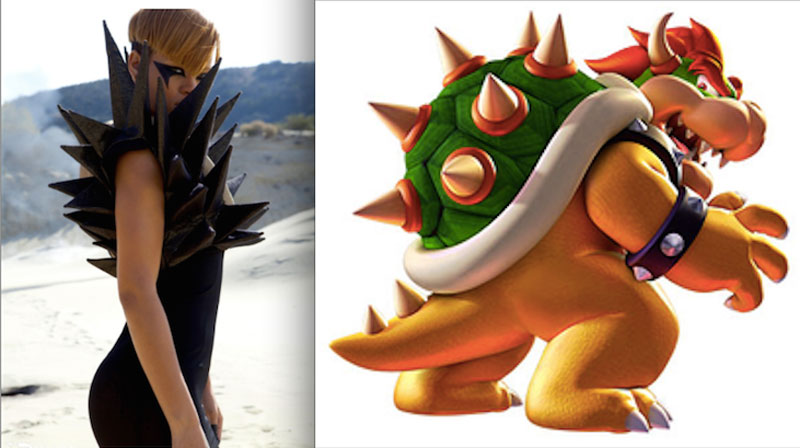 Rihanna's Fashion Muse Uncovered… It's Characters from the MarioUniverse