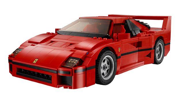 Awesome Lego Ferrari F40 (1)