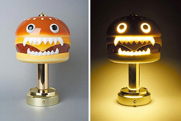 Nighmarish Vampire Hamburger Lamp