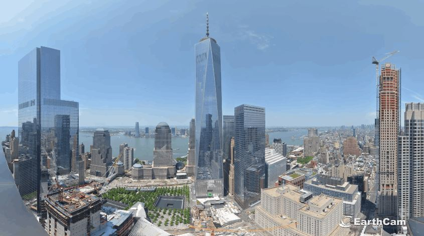 One World Trade Center 11 Year Construction Timelapse