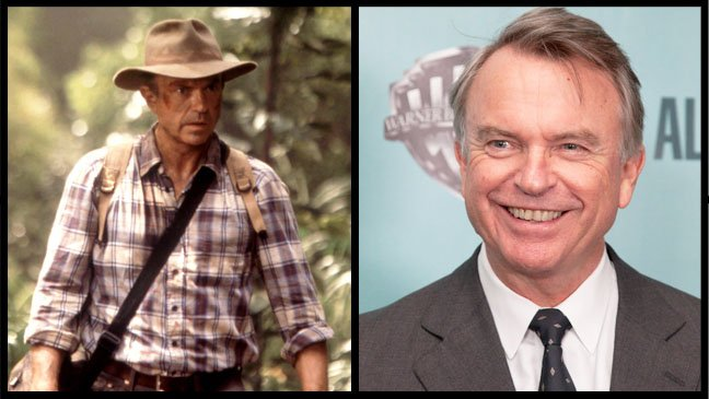 Jurassic Park cast then and now