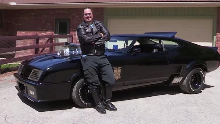 MAD MAX Fan Recreates Original Interceptor Car