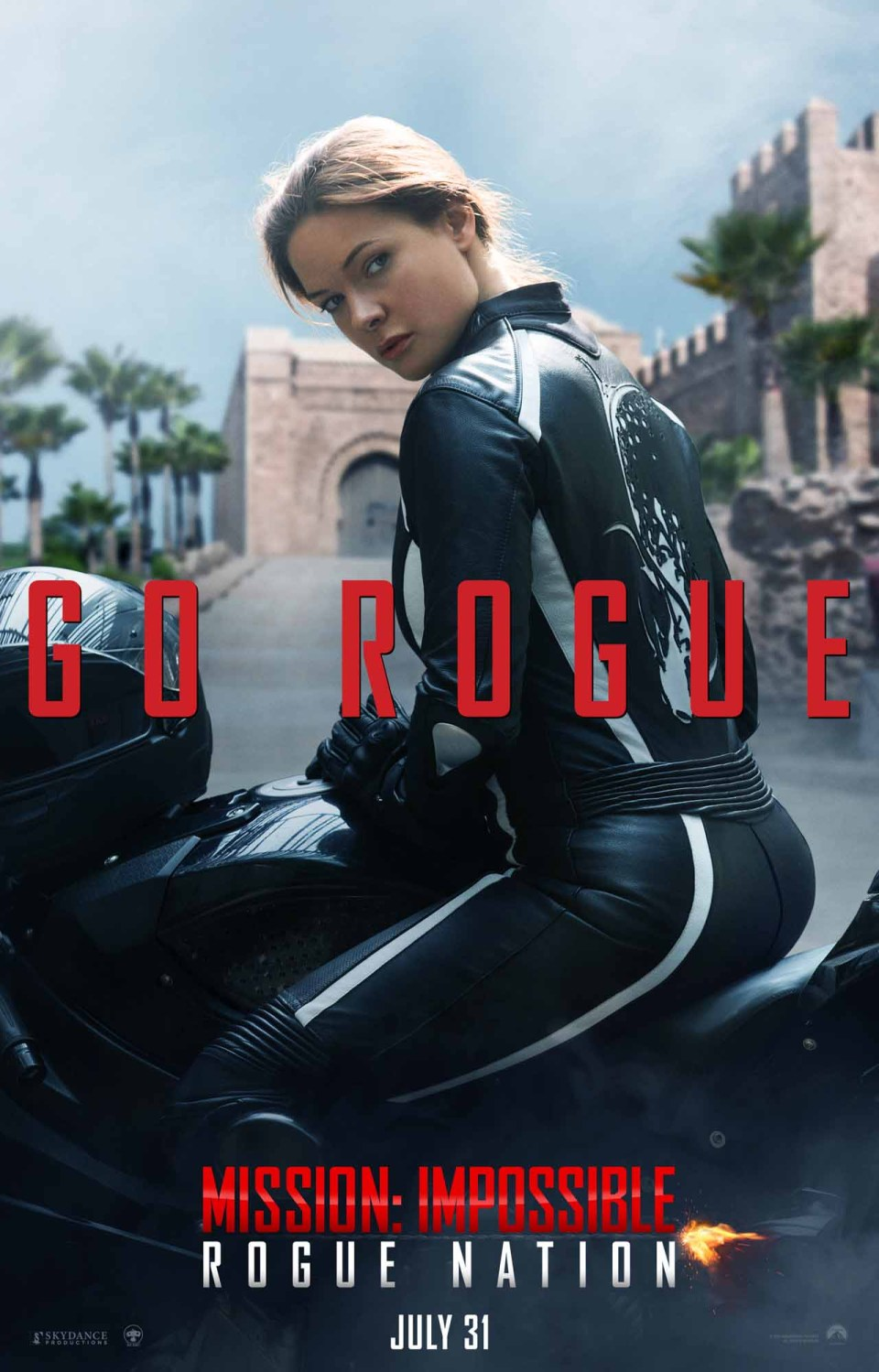 Mission: Impossible Rogue Nation Character Posters