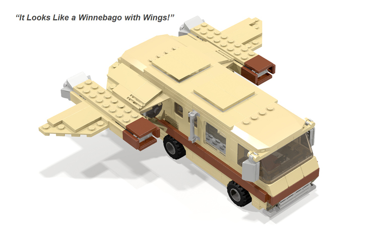 SPACEBALLS Fan-Made LEGO Vehicle Playsets
