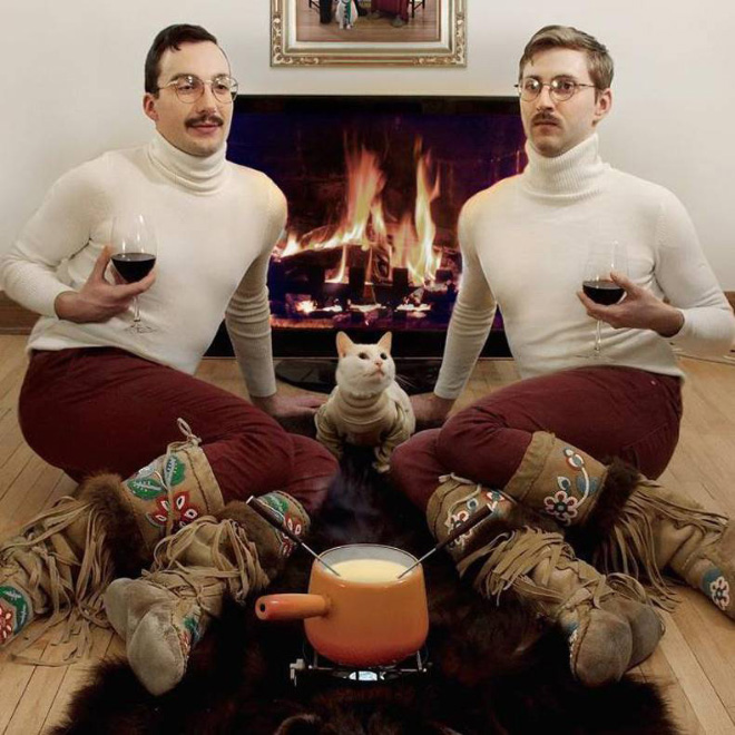 The Absolute Worst Pictures of Men and Cats