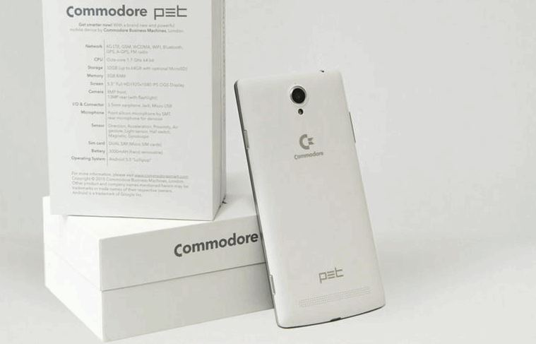 Commodore PET  android phone