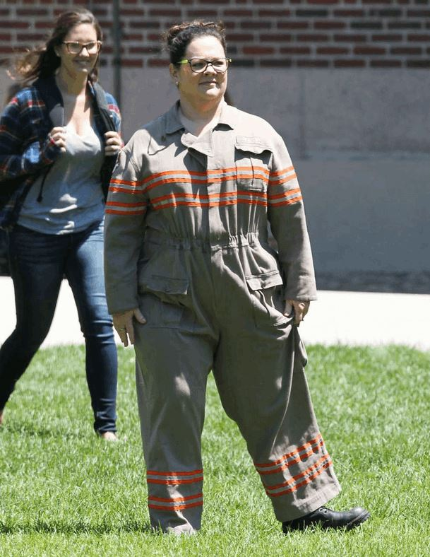 New Ghostbusters Costume Photo Featuring Melissa McCarthy