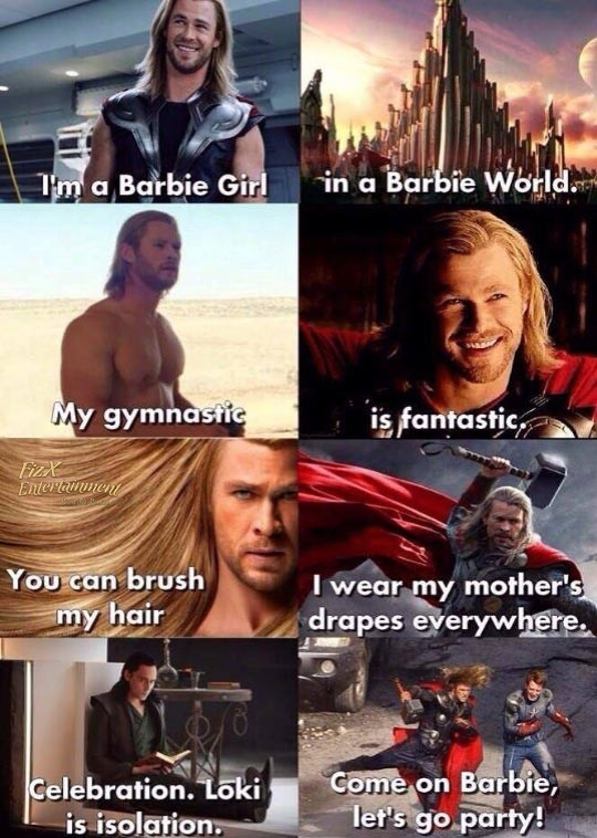 Thor's Hilarious New Song