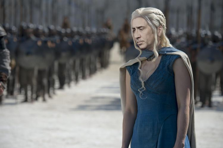 Nic Cage Looks Like as Every GAME OF THRONES Character