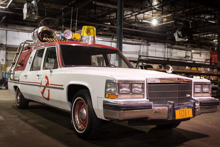 new Ghostbusters car