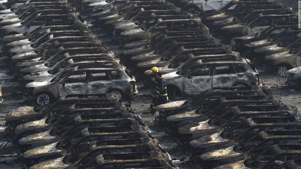 Blast in Tianjin