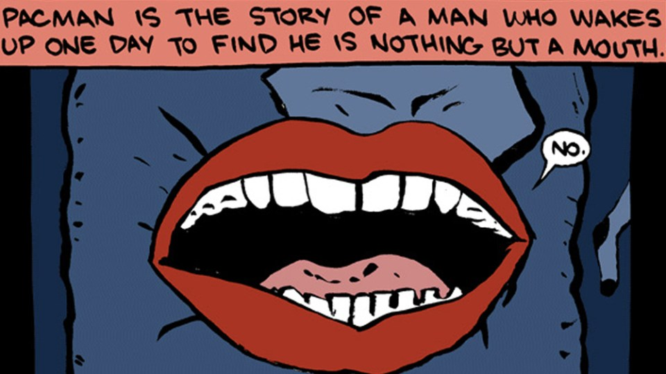 Let This Comic Explain Why PAC-MAN is a Horror Story