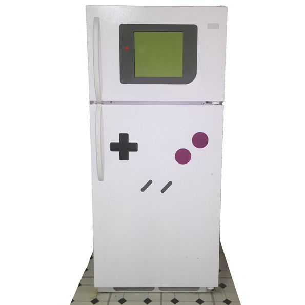 Turn Your Fridge Into Giant Gameboy With These Magnets