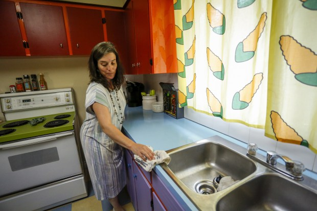 Couple builds The Simpsons kitchen in their real-life home