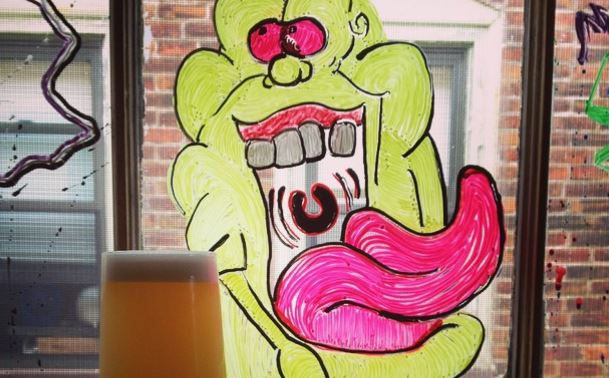 Brewery In Pennsylvania Brews Limited GHOSTBUSTERS Ecto Cooler Beer