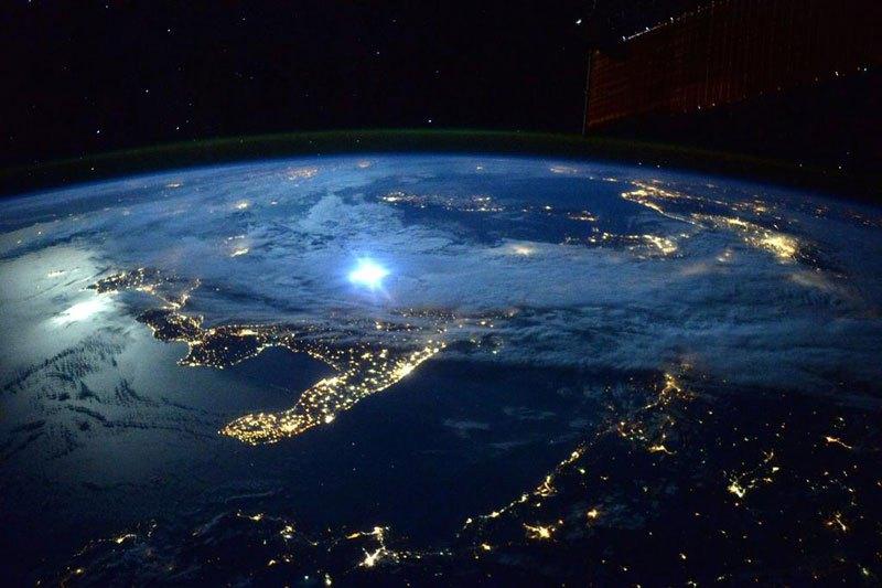 Moonlight Over Italy