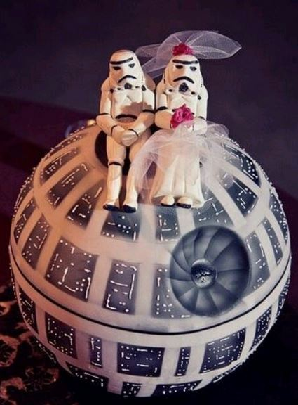 Super Cute Star Wars Themes to Add to Your Wedding Day