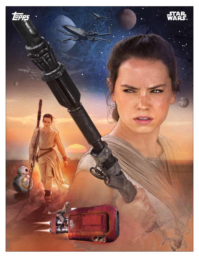 THE FORCE AWAKENS  (4)