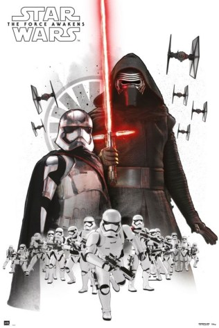 Star Wars: The Force Awakens Art Posters