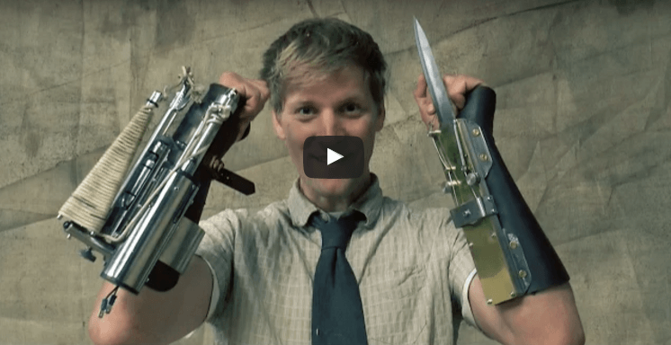 Fully Functional Hidden Blade and Rope Launcher From the Assassin's Creed Universe