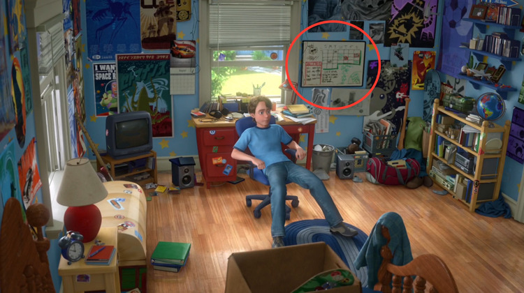 Andy's Room From TOY STORY 3 Recreated in Real Life