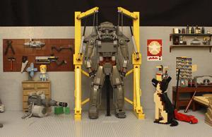 Lego: 20,000-Piece's of Fallout 4 Garage Scene