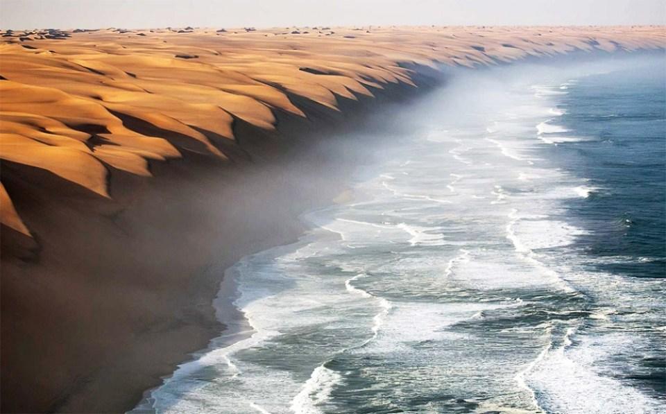 Where Namib desert meets the sea