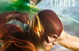 THE FLASH and ARROW Crossover Poster