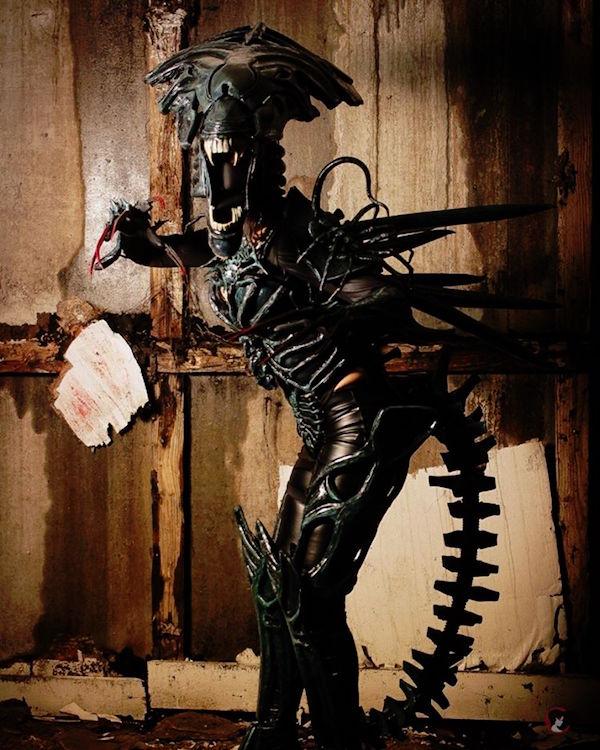 Xenomorph Queen Cosplay From Aliens