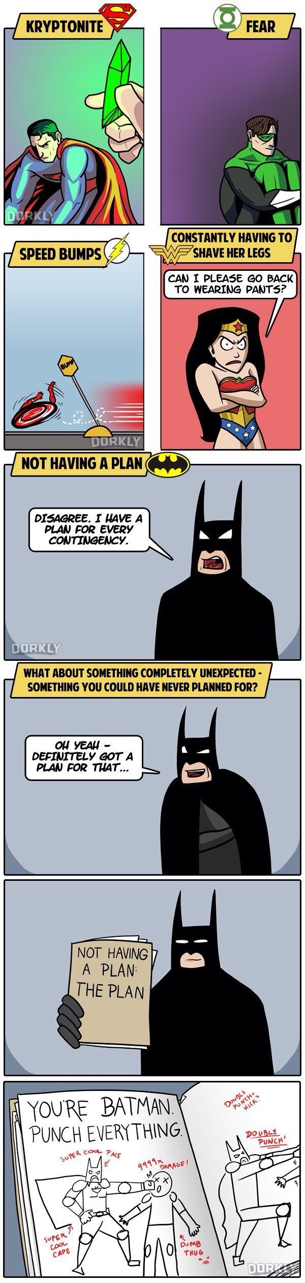 Batman Got A Plan For Every Situation