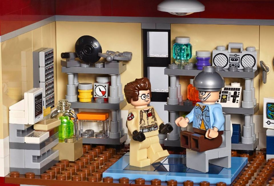 LEGO Ghostbusters Firehouse Detailed In New Photos