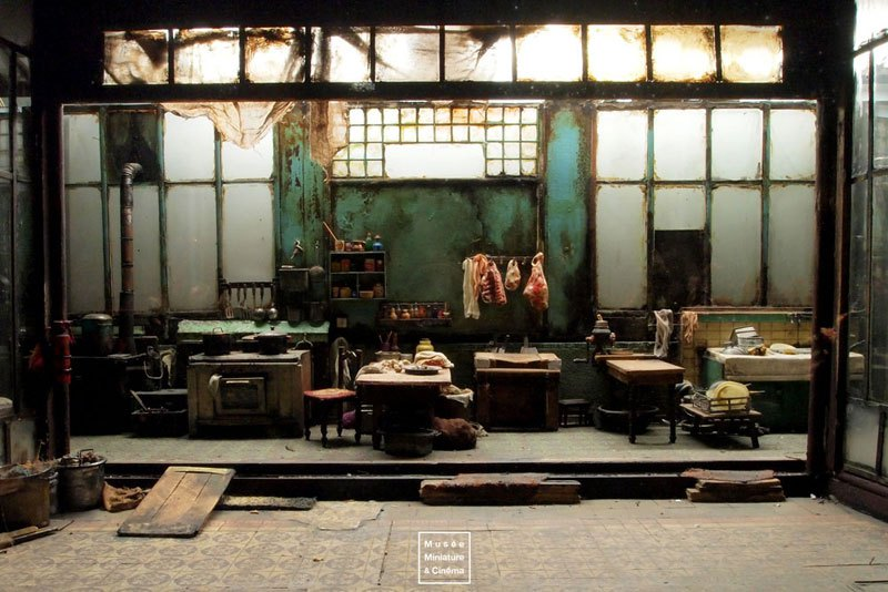 Miniature Museum Of Film Sets
