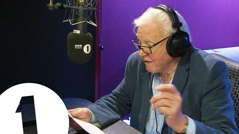Sir David Attenborough Narrates Adele's 'Hello'